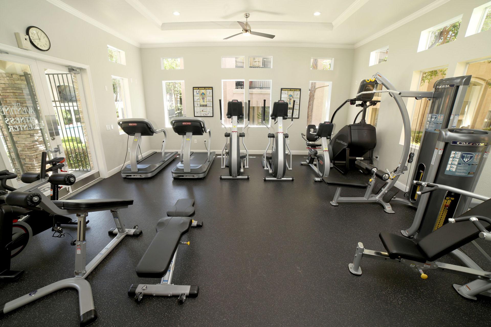 The Aventine gym