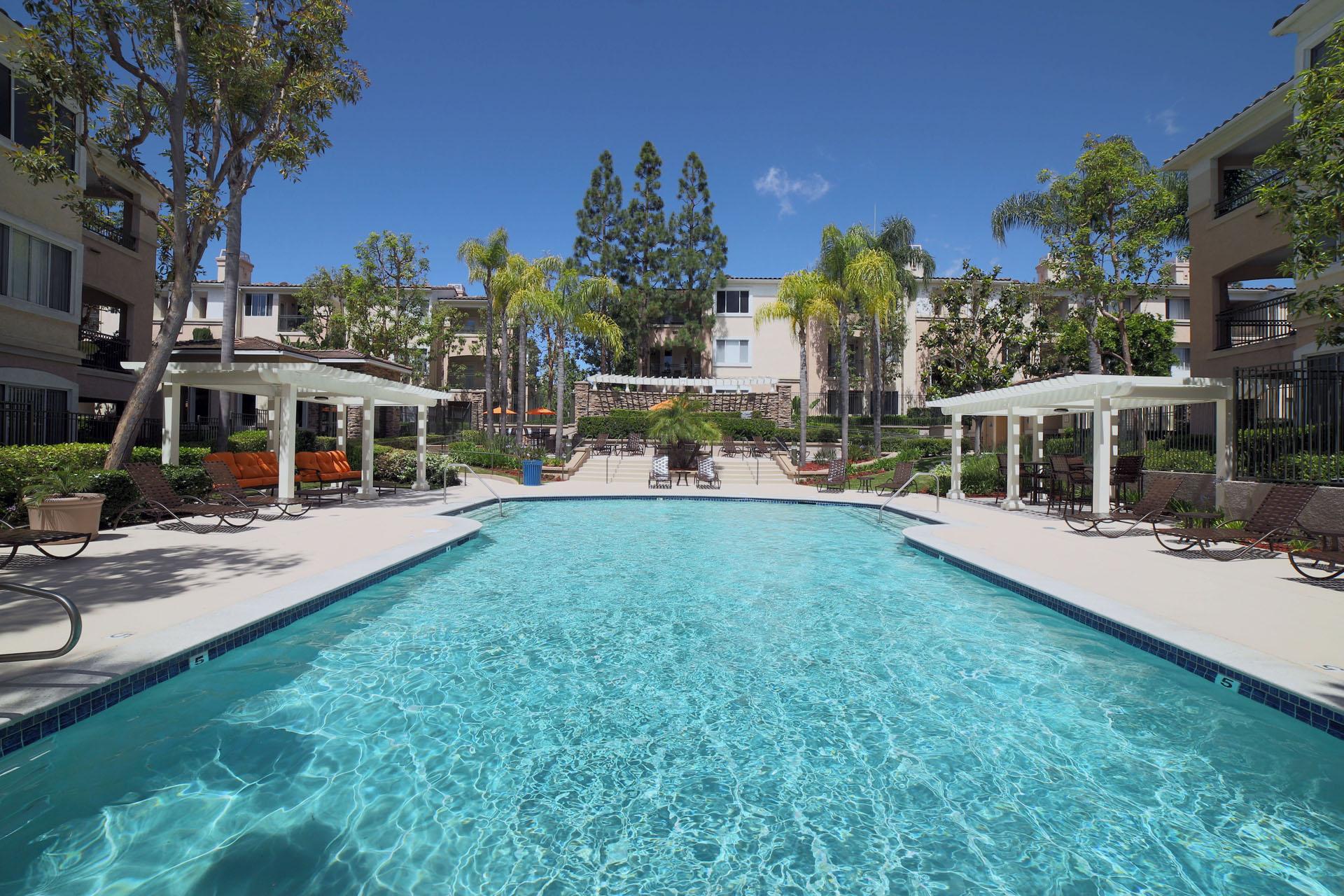 The Aventine pool